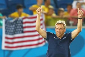 U.S. coach Jurgen Klinsmann helped win a World Cup as a player for Germany in 1990 and then coached Germany to a third-place finish at the 2006 World Cup.