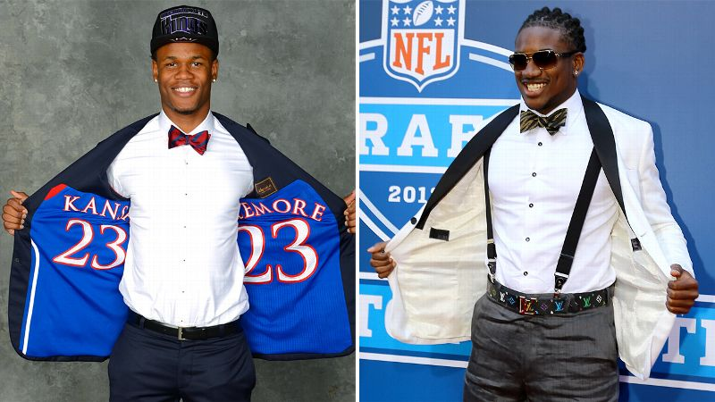 We look back at draft fashion from the NBA and NFL to decide who wore it best. (Check below for the winner of this Ben McLemore-Cordarelle Patterson matchup!)