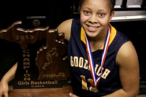 Tania Davis has been a winner on the court and has shown commitment off of it.