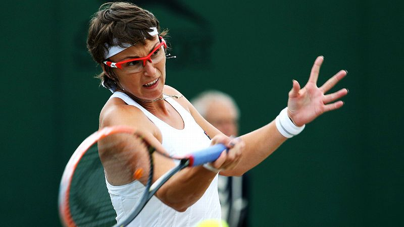 First, she prefers to go by Slava. Second, the 26-year-old from Kazakhstan made international headlines at Wimbledon two years ago when she became the first woman to win a golden set at a Grand Slam, taking all 24 points in the first set in a win over Sara Errani. Shvedova, who is ranked 65th in the world, next plays Sabine Lisicki in the round of 16.