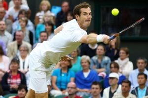 Andy Murray took some heat this fortnight -- not necessarily because of his tennis game.