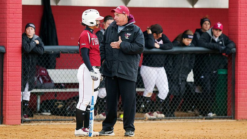 In a budget-cutting move, Temple eliminated several sports, including the softball program as of July 1. Now players and coaches must scatter.