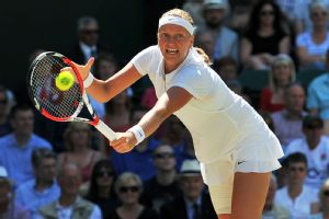 Petra Kvitova is 25-5 on Wimbledon grass and looking to win another Grand Slam title.