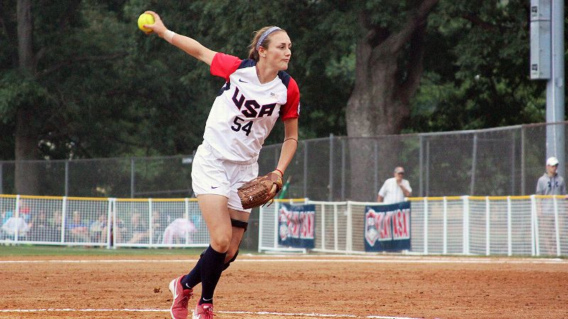 Jolene Henderson is debuting as part of a Team USA pitching quartet with a combined three years of international experience -- and one major tournament appearance.