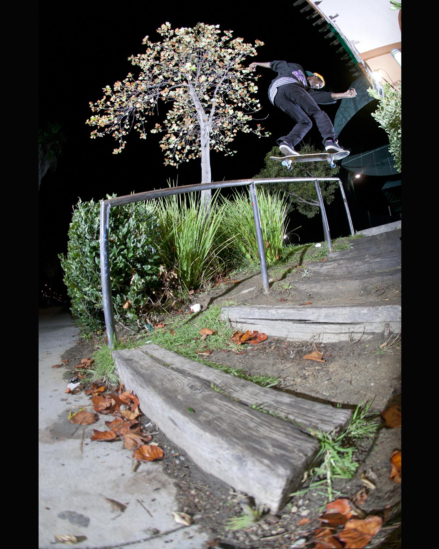 Darrell Stanton, Nollie B/S lipslide