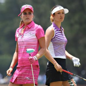 Lexi Thompson and Michelle Wie, winners of the two previous majors, have decidedly different stories from Mo Martin.