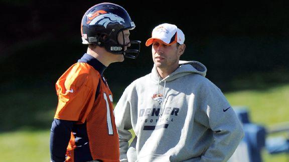 Peyton Manning, Adam Gase