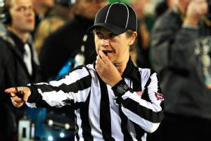 Catherine Conti will be the first female official to work a Big 12 football game.