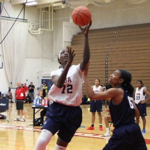 Beatrice Mompremier was named Florida's Gatorade Player of the Year as a junior and later was named to Team USA's U18 team.