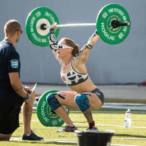 2013 CrossFit women's champion Sam Briggs.