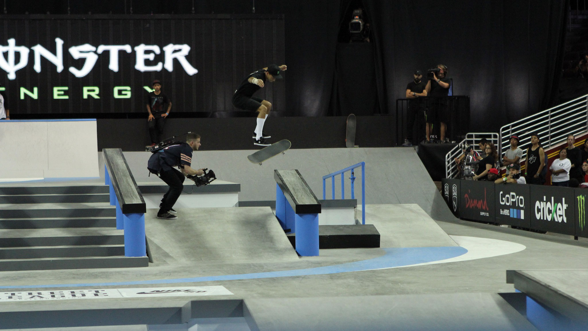Nyjah Huston claimed his third Street League victory of the season this weekend in Los Angeles.
