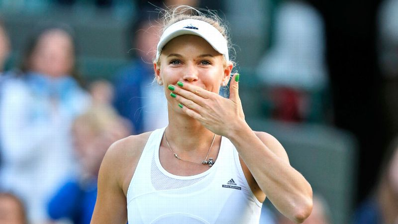 Given her fighting spirit, there was no way Caroline Wozniacki was just going to fade away.