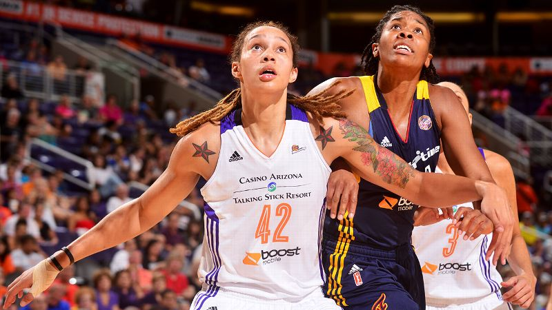 Center: Brittney Griner, Phoenix