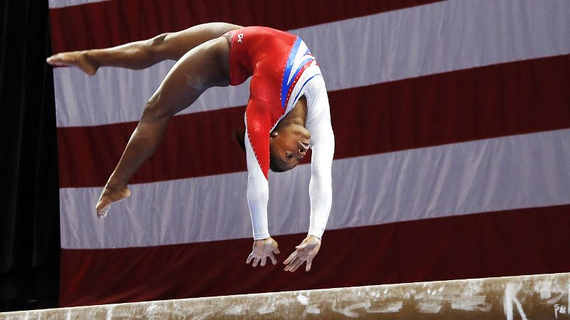 Americans have dominated women's gymnastics for the past decade, but defending national champion Simone Biles might be the most talented athlete yet.