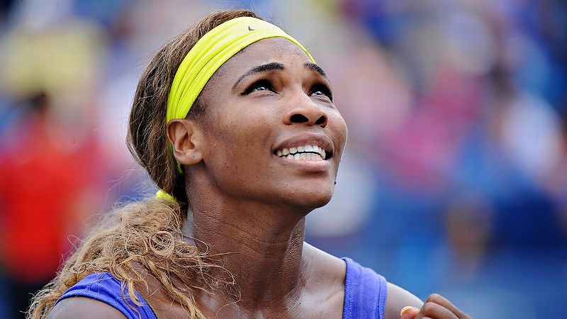 Words like dominant and powerful often accompany Serena Williams' name. But mysterious may be the most accurate adjective yet.