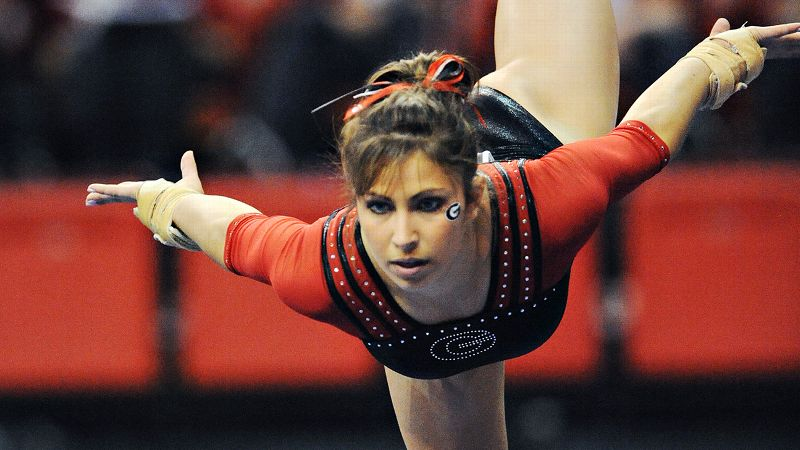 The two-time all-around national champion (2003, 2004) went on to compete for Georgia and was an integral member of four NCAA title teams (2005-2009).