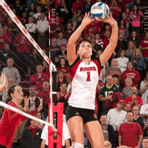 Recovered from last season's partially torn hamstring, talented Wisconsin sophomore Lauren Carlini should be even better this year.