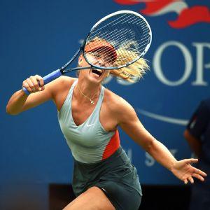 Maria Sharapova had 43 unforced errors compared to just 17 for Caroline Wozniacki.