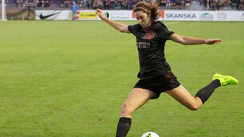 Stanford sophomore defender Stephanie Amack drew the foul that led to her team's overtime win against Florida and has been part of seven consecutive shutouts.