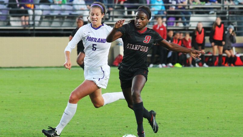 Stanford's Chioma Ubogagu scored the eventual winning goal against Portland a week after beating North Carolina with a goal in overtime.