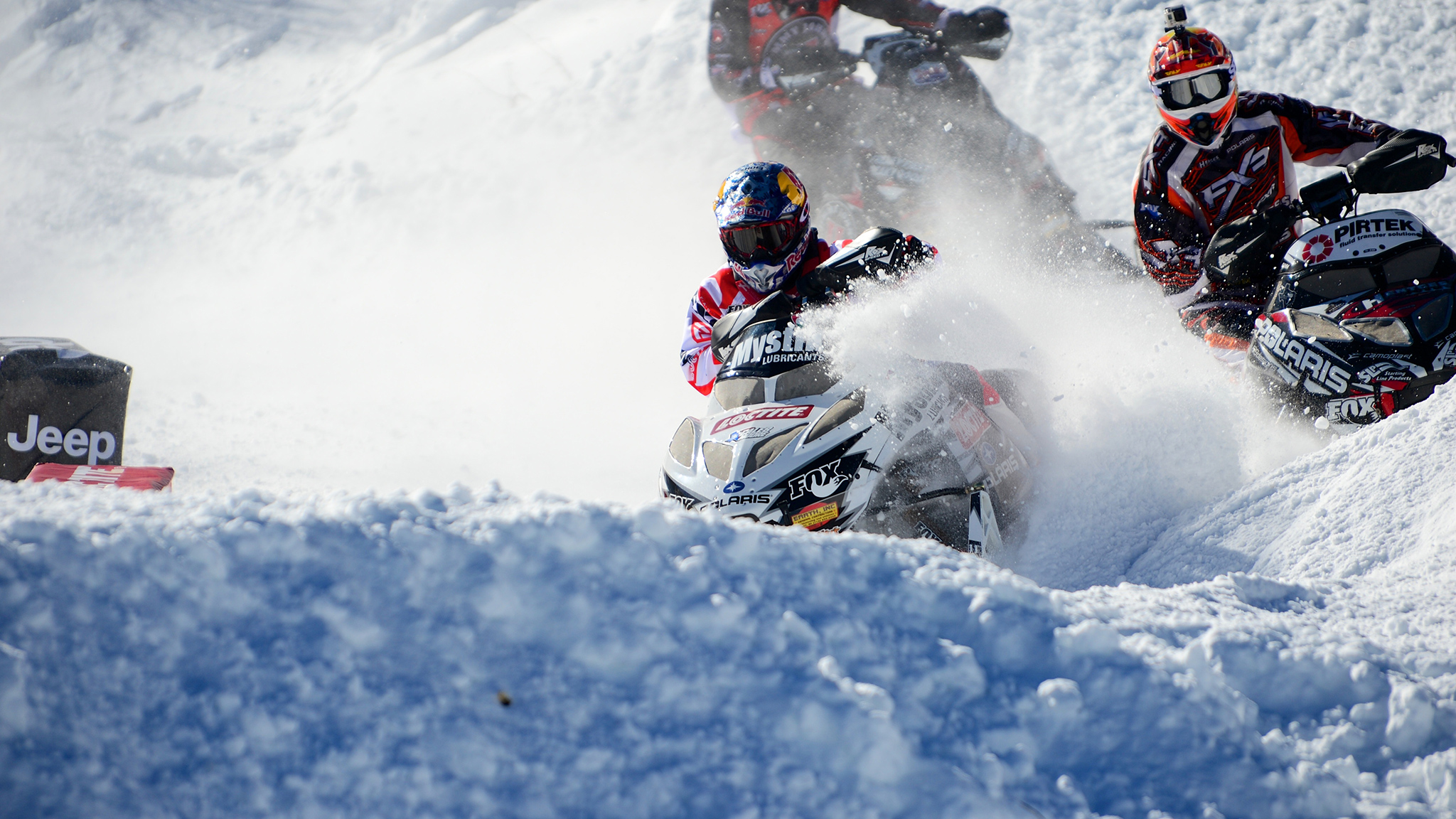 Levi Retires from Snocross
