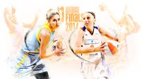 WNBA Finals Illustration