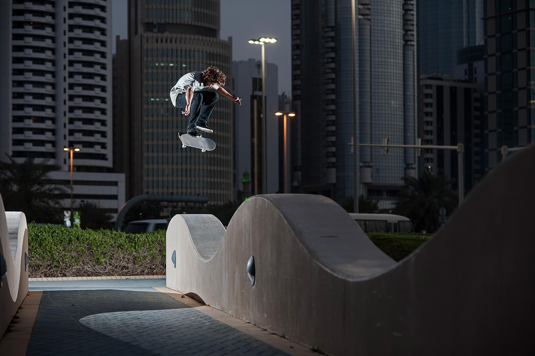 Patrick Rogalski, Abu Dhabi, U.A.E.