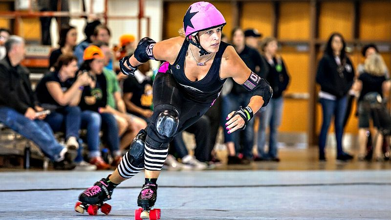 Julie Brandt-Glass was already a decorated in-line star when she caught the roller derby bug.