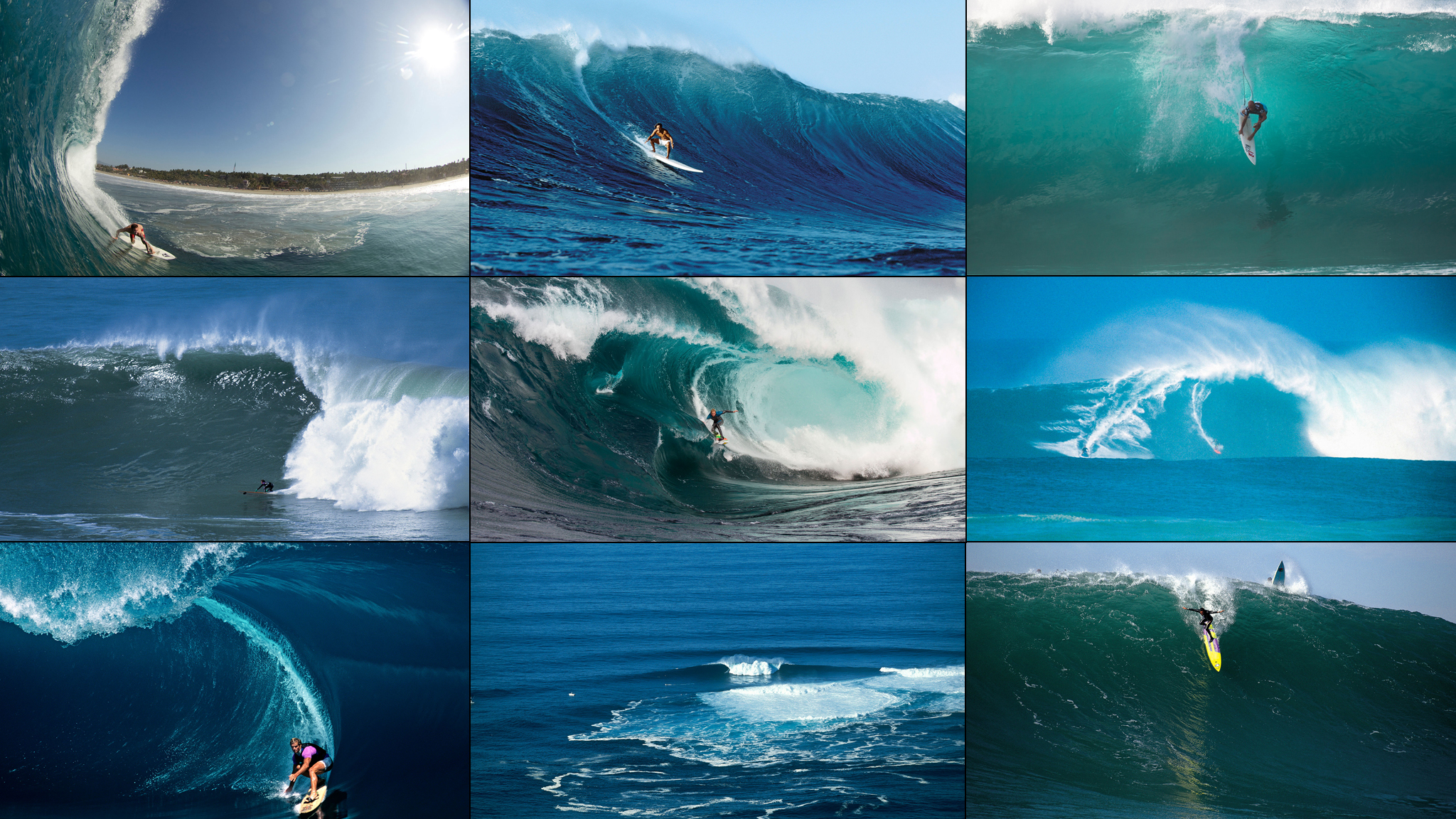 Surveying Big Wave Surfing