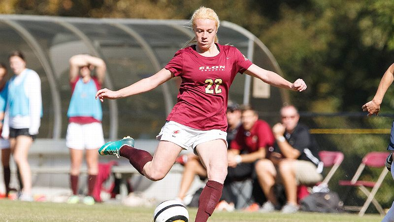 Nicole Dennion has been a prolific goal scorer for Elon University, winning the Southern Conference player of the year honors last November. Now she's using her love of soccer to come back from the battle of her life against a rare form of bone cancer.