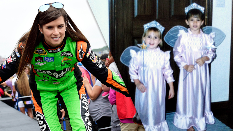 bAge: 32; First female auto driver to lead laps in the Indy 500 and Daytona 500/bbrMy sister, Brooke (on the left), and I were fairy princesses. The best part was I got to wear the gown to bed long after Halloween was over.