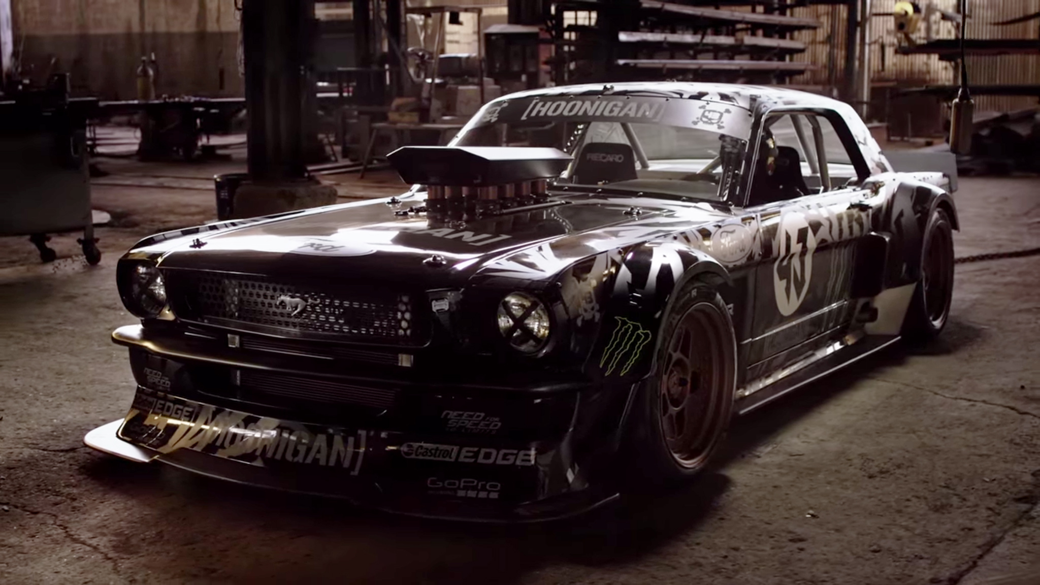 Ken Block Drifts Around Los Angeles In Gymkhana Seven