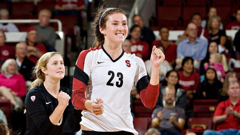 NCAA women's volleyball -- Jordan Burgess