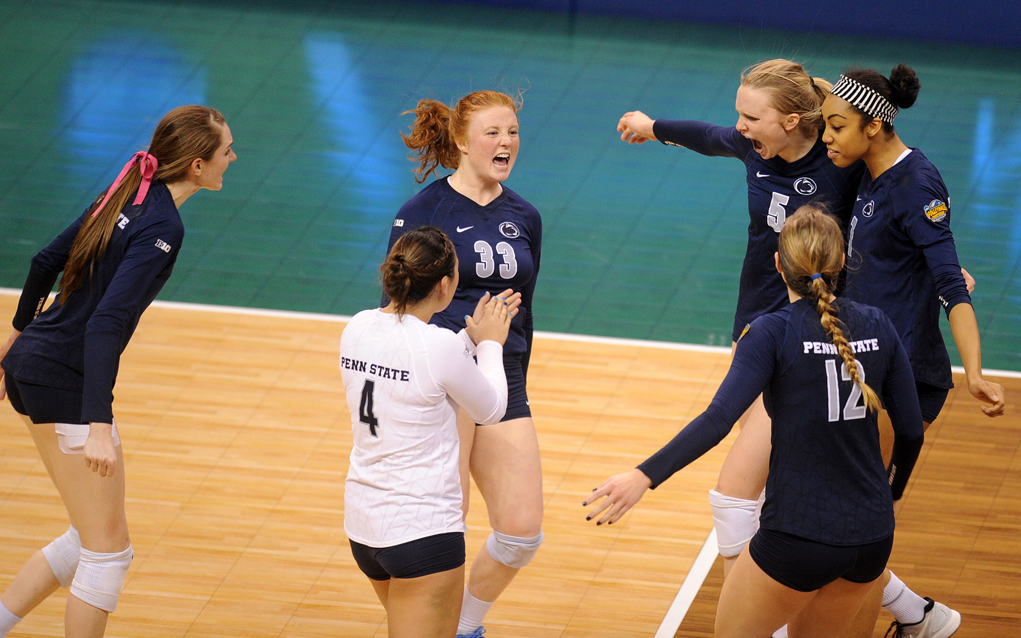 NCAA Volleyball Semifinals: Penn State
