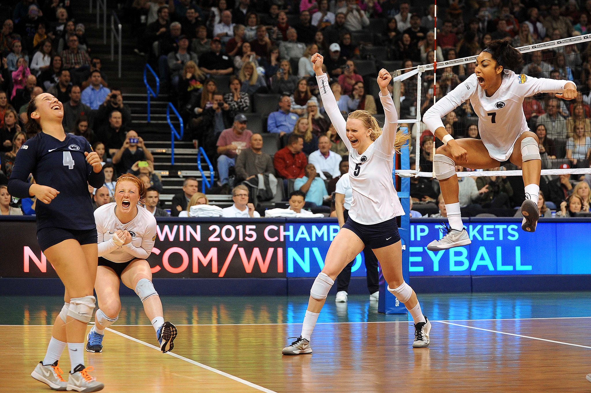 NCAA Volleyball Final: Penn State Reacts