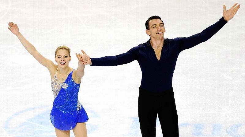 Alexa Scimeca and Christopher Knierim