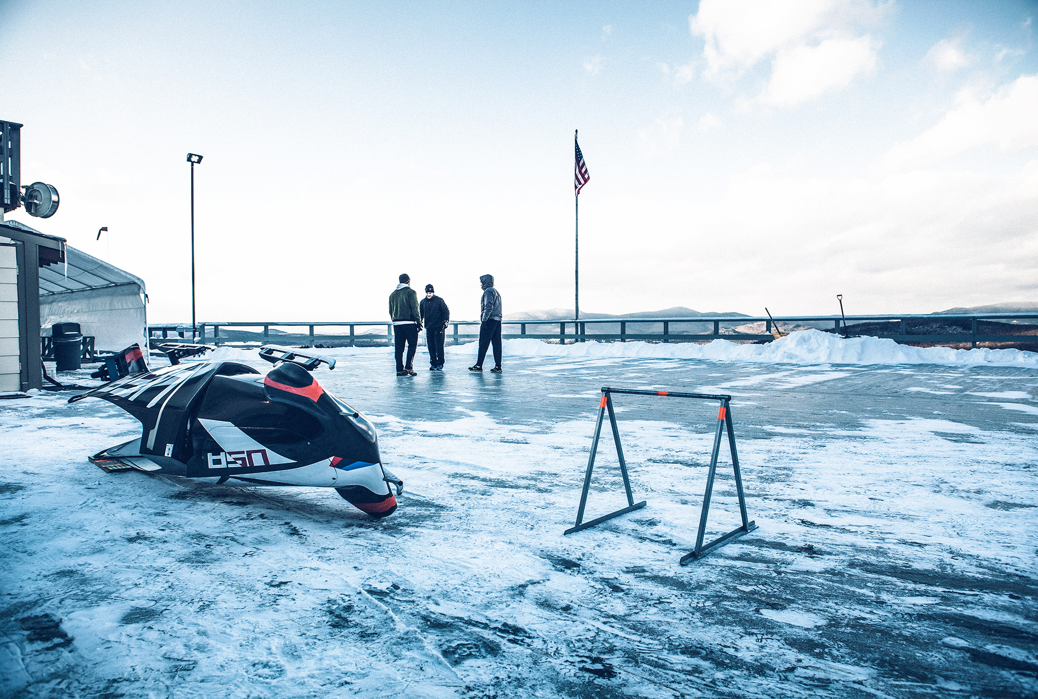 Behind The Scenes: Training With The U.S. Sledding Teams