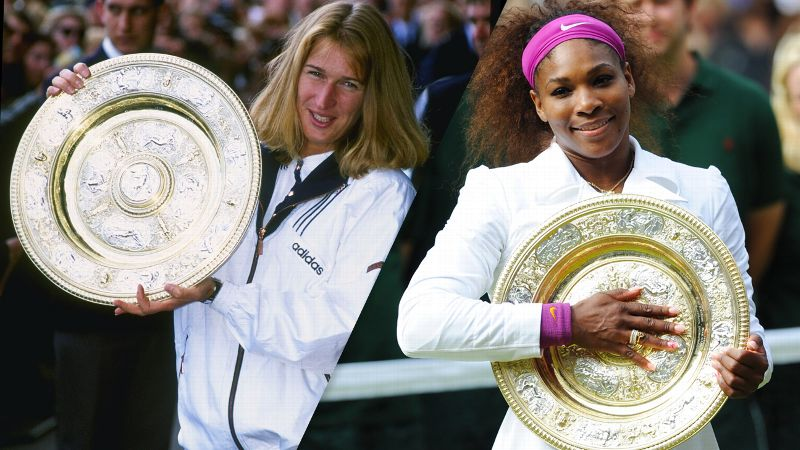 Steffi Graf, Serena Williams