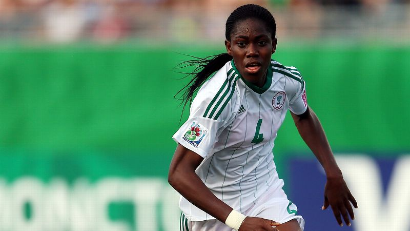 The up-and-comer: Asisat Oshoala, Nigeria