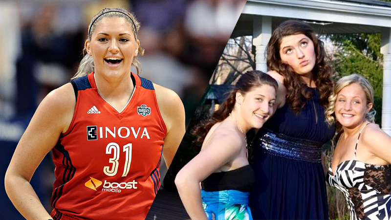 Stefanie Dolson, Washington Mystics center
