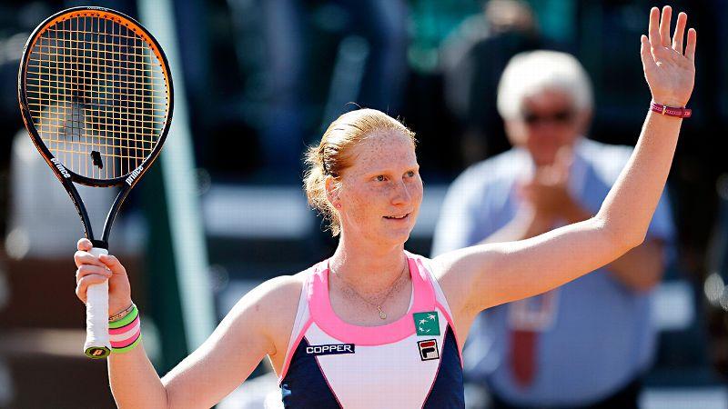 Alison van Uytvanck, French Open