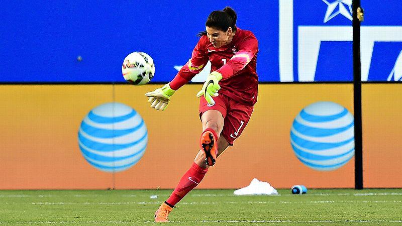 Hope Solo, U.S. goalkeeper