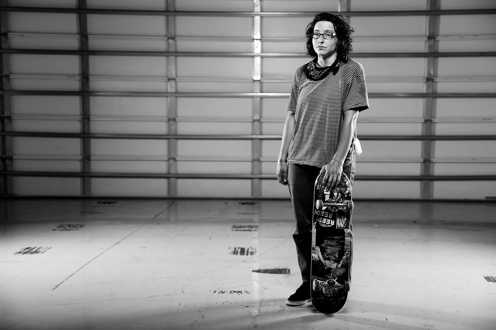 Marisa Dal Santo, Skateboarder