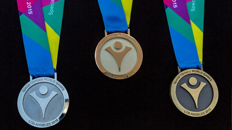 Special Olympics World Games, medals