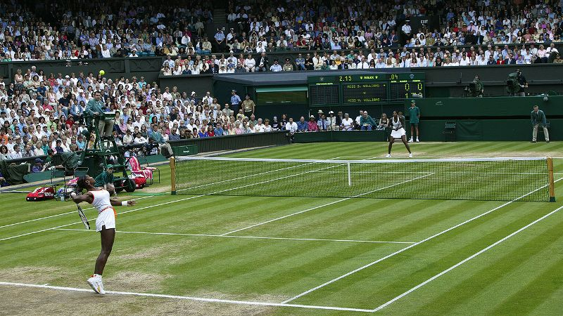2003: Encore Performance For Serena Williams