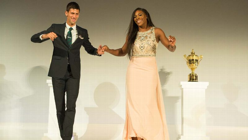 Novak Djokovic, Serena Williams