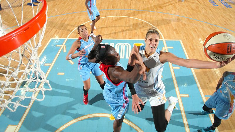 Elena Delle Donne, Chicago Sky, 6-5, guard/forward