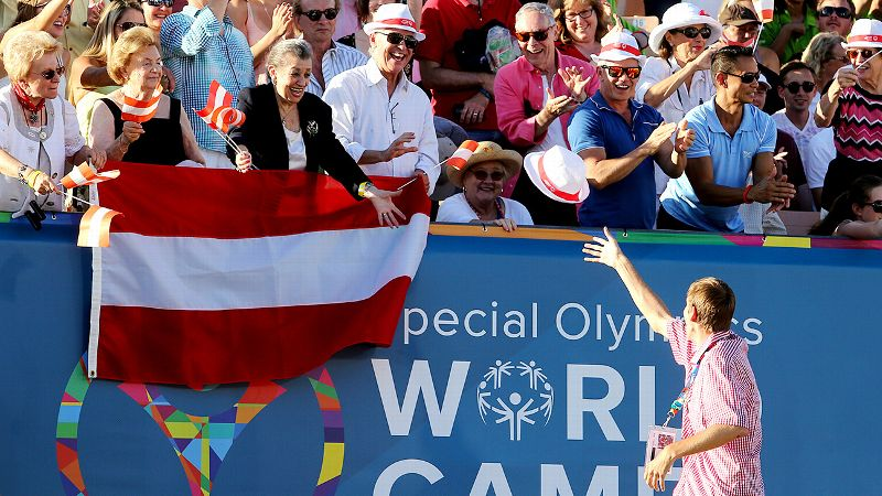 Special Olympics World Games Families