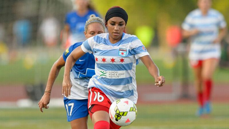 Samantha Johnson, NWSL Chicago Red Stars