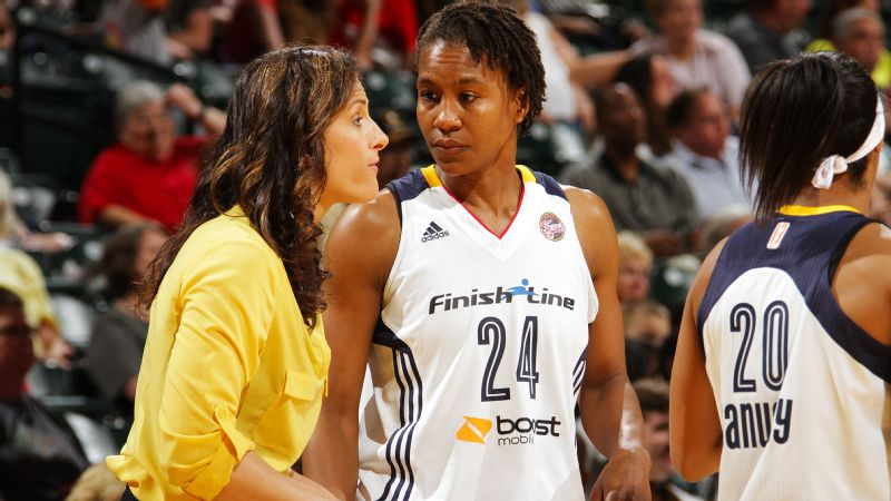 Stephanie White, Tamika Catchings